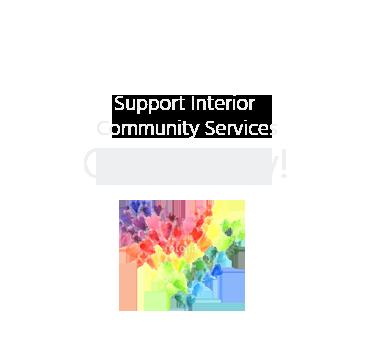 Donate to Interior Community Services Button