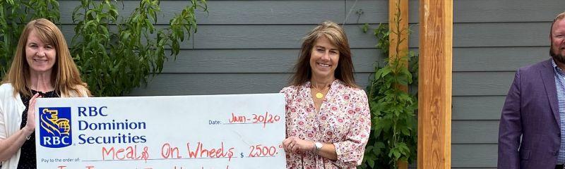 RBC Wealth Management Group Generously Donates $2500